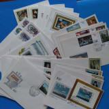 RUSIA/URSS-ARTA-''PICTURI ''-Lot mare serii complete- (27-FDC)-MNH-, Stampilat