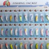 30pcs Kinds of Plastic Fishing Lures