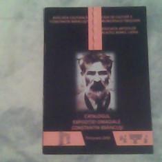 Catalogul expozitiei omagiale Constantin Brancusi