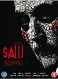 Filme SAW Puzzle Mortal Legacy 1-8 DVD BoxSet Complete Collection, Engleza, lionsgate