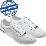 Pantofi sport Adidas Originals Porsche TYP 64 pentru barbati - adidasi originali, 44 2/3, 45 1/3, Alb, Piele naturala