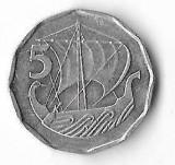Moneda 5 mils 1982 - Cipru, Europa