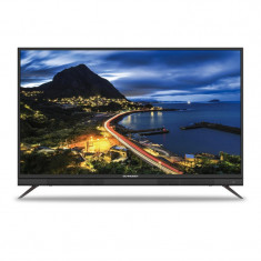 Televizor LED Schneider 109 cm, 43SU702K, Smart, Ultra HD 4K, Soundbar integrat, Negru