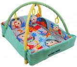 Saltea de joaca cu protectii laterale Happy Nest, Multicolor, Baby Mix