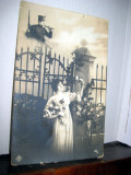 ww1-C. P. militara veche 1916-Sotia visand sot soldat cu goarna. Primul razboi