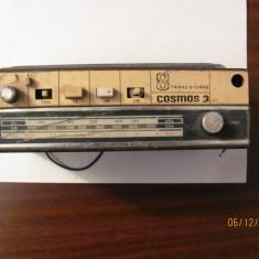 GE - Radio vechi romanesc COSMOS 3 / 8 tranzistoare, Analog