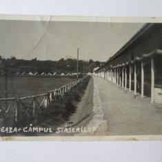 Rara! Breaza-Campul strajerilor,foto(model carte postala) din anii 30