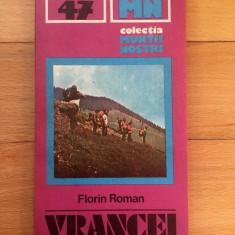 MUNTII NOSTRI NR. 47: MUNTII VRANCEI , Florin Roman, 1989, cu harta
