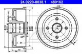 Tambur frana OPEL CORSA C (F08, F68) (2000 - 2009) ATE 24.0220-0038.1