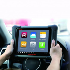Tester auto profesional wireless OBDII, multimarca reprogramare ECU J2534, Autel MaxiSys Elite