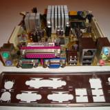 Placa de baza PCWARE mini itx cu procesor intel atom 1.6 Ghz