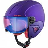 Cumpara ieftin Casca Alpina Carat LE Visor HM royal purple matt