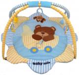 Saltea de joaca pentru copii Teddy Bear, Multicolor, Baby Mix