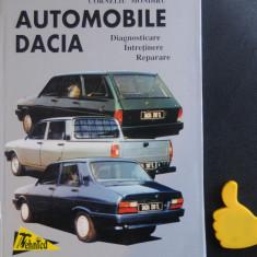 Automobile Dacia diagnosticare intretinere reparare 1998 Corneliu Mondiru