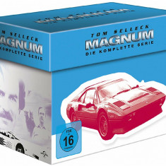 Film Serial Magnum P.I. BoxSet DVD Complete Collection, Politist, Engleza, columbia pictures