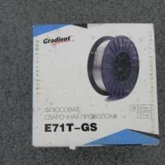 Sarma sudura flux fara gaz 0.8 mm 1 kg E71T - GS