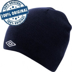 Caciula Umbro Logo - caciula originala - caciula iarna, Albastru, Fes