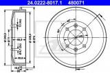 Tambur frana PEUGEOT 306 (7B, N3, N5) (1993 - 2003) ATE 24.0222-8017.1