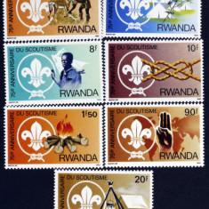 RWANDA - Cercetasi-Scoutism 7 V.**- RW 090