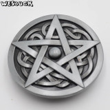 Catarama pentagrama pe nod celtic catarama curea metalica