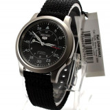 Ceas SEIKO 5 Automatic Military Watch SNK809K2 - black hawk, Casual, Mecanic-Automatic