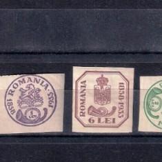 ROMANIA 1932 - 75 ANI A MARCILOR CAP DE BOUR - MNH - LP 102