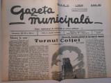 Gazeta municipala, 12 mai 1935, 6 pagini, stare foarte buna