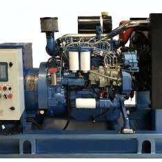 Generator curent electric ( grup electrogen ) ABAT 88 TBI, motorizare Baudouin, 88 kVA, diesel, trifazat, automatizare