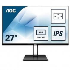Monitor LED AOC 27V2Q 27 inch 5ms Black