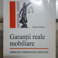 Radu Rizoiu, Garanții reale mobiliare, Legislație comentată și adnotată, 2006