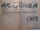 Ziarul Actiunea, vin.18 mart. 1911, 4 pagini, stare perfecta