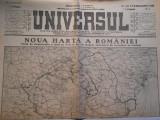 Ziarul Universul, joi 3 sept.1940, Noua harta a Romaniei, 2 pag.
