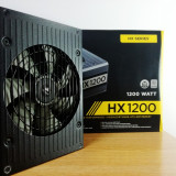 Sursa CORSAIR HX 1200 W / 10 ani garantie