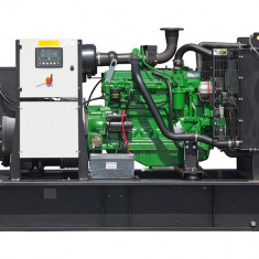 Generator curent electric (grup electrogen) ABAT 110 TJD, motorizare John Deere, 110 kVA, diesel, trifazat, automatizare optionala