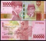 Bancnota Indonezia 100.000 Rupiah 2016 - PNew UNC