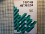 studiul metalelor    colan si altii