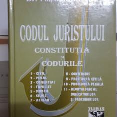Constantin Crisu , Codul jurisutului, Constituția și 11 coduri, 2006