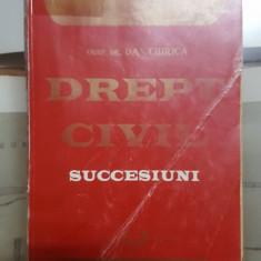 Dan Chircă, Drept civil, Succesiuni, București 1996