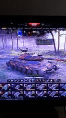 World of Tanks account cu 30 de tancuri premium foto