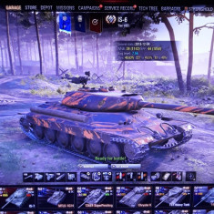World of Tanks account cu 30 de tancuri premium