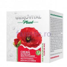 Cremă nutritivă multivitamine, GEROVITAL Plant