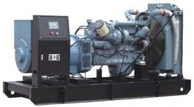Generator curent electric (grup electrogen) ABAT 810 TM, motorizare Man, 810 kVA, diesel, trifazat, automatizare optionala