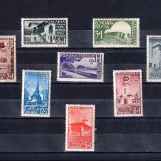 ROMANIA 1940 - STRAJA TARII - VEDERI - MNH - LP 141