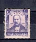 ROMANIA 1942 - ANDREI MURESANU - MNH - LP 149