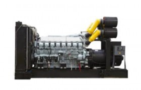 Generator curent electric (grup electrogen) ABAT 2500 TMI, motorizare Mitsubishi, 2500 kVA, diesel, trifazat, automatizare optionala