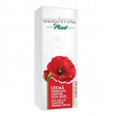 Cremă fermitate contur ochi și buze, GEROVITAL Plant