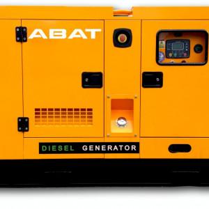Generator de curent electric (grup electrogen) ABAT 110 DWR, motorizare DeWerk, 110 kVA, diesel, trifazat, automatizare optionala