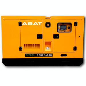 Generator curent electric (grup electrogen) ABAT 35 DWR, motorizare DeWerk, 35 kVA, diesel, trifazat, carcasa inclusa, automatizare optionala