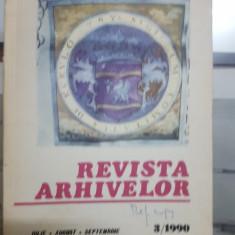 Revista Arhivelor, Nr. 3/1990, 1967