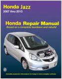 Manual de reparatie Honda Jazz 2007-2013 reparatii service, engleza tip carte
